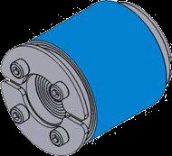 Резино-метал. зажим RS 31 OMD AISI 316 в комплекте