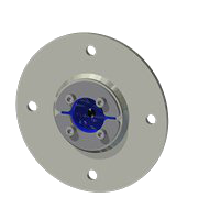 Набор резино-метал. зажима RS 50 B Ex AISI 316/AISI 316