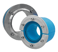 Набор резино-метал. зажима RS X 175 AISI 316 woc/galv