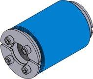Резино-метал. зажим RS 43 OMD AISI 316 в комплекте
