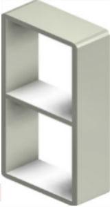Алюминиевая рама S 2+2x1