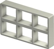 Алюминиевая рама S 2+2x3