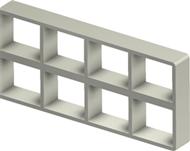 Алюминиевая рама S 2+2x4