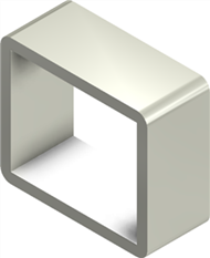 Стальная рама S 2x1 AISI 316