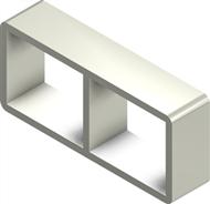 Алюминиевая рама S 2×2