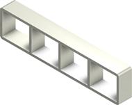 Алюминиевая рама S 2x4
