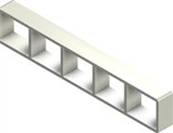 Алюминиевая рама S 2x5