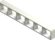 Алюминиевая рама S 2x6