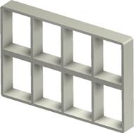 Алюминиевая рама S 4+4x4