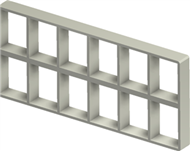 Алюминиевая рама S 4+4x6