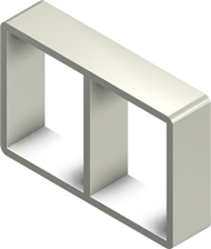 Алюминиевая рама S 4x2