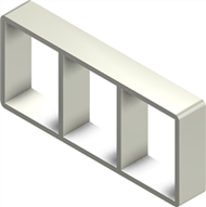 Алюминиевая рама S 4x3