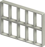 Алюминиевая рама S 6+6x5