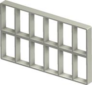 Алюминиевая рама S 6+6x6