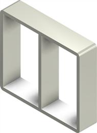 Алюминиевая рама S 6x2