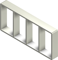 Алюминиевая рама S 6x4