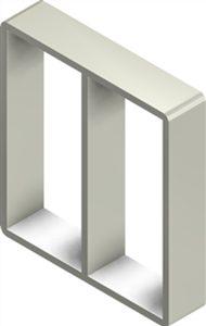 Алюминиевая рама S 8x2