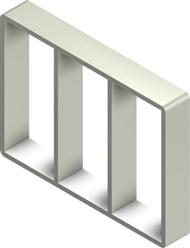 Алюминиевая рама S 8x3