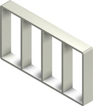 Алюминиевая рама S 8x4
