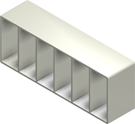 Алюминиевая рама S 8x6