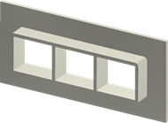 Алюминиевая рама SF 2x3