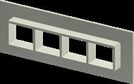 Алюминиевая рама SF 2x4