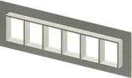 Алюминиевая рама SF 4x6
