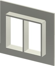 Алюминиевая рама SF 6x2