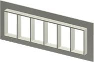 Алюминиевая рама SF 6x6