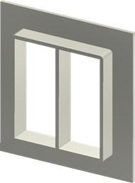 Алюминиевая рама SF 8x2