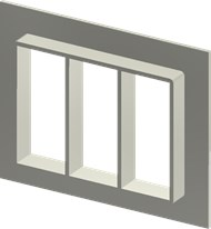 Алюминиевая рама SF 8x3