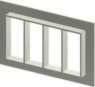 Алюминиевая рама SF 8x4
