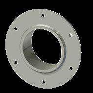 Гильза алюминиевая с фланцем SLFR 100 114/101-55мм
