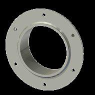 Гильза алюминиевая с фланцем SLFR 125 140/126-55мм