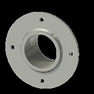 Гильза алюминиевая с фланцем SLFRS 68 83/69,5-65мм