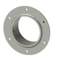 Гильза стальная с фланцем SLFRS 125 140/126-65мм AISI 316