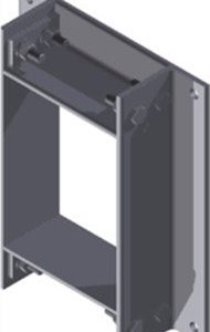 Стальная рама B 4x1 C Ex GALV