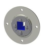 Набор резино-метал. зажима R 75 B Ex AISI 316/GALV