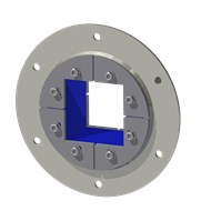Набор резино-метал. зажима R 125 B Ex AISI 316/GALV