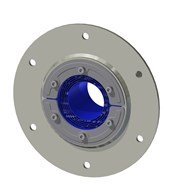 Набор резино-метал. зажима RS 100 B Ex AISI 316 /GALV