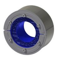 Набор резино-метал. зажима RS 125 W Ex AISI 316 woc/primed