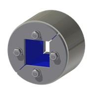 Набор резино-метал. зажима R 75 W Ex AISI 316/primed