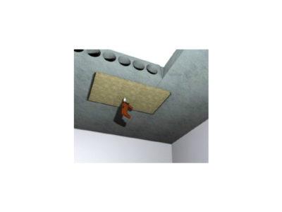 Монтаж огнезащиты конструкций из бетона