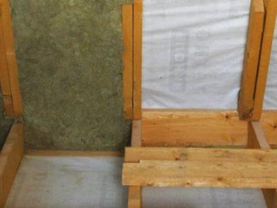 Этапы монтажа каменной ваты