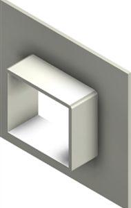 Стальная рама G 2x1 W Ex AISI316