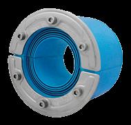 Резино-метал. зажим RS 100 AISI 316 woc в комплекте