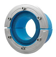 Резино-метал. зажим RS 125 AISI 316 woc в комплекте