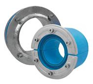 Набор резино-метал. зажима RS X 125 AISI 316 woc/galv