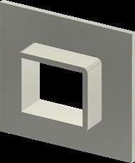Алюминиевая рама SF 2×1