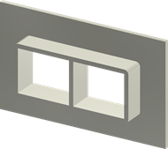 Алюминиевая рама SF 2x2